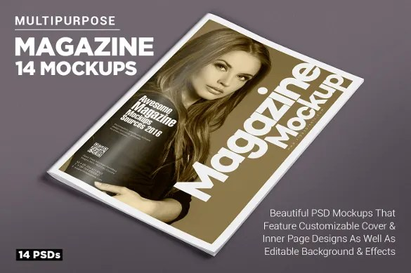 Magazine Cover PSD Templates - 54+ Free PSD, AI, Vector EPS Format