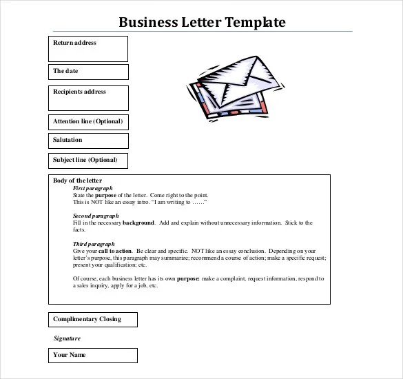 Business Letter Template - 44+ Free Word, PDF Documents Free - formal business letter formats