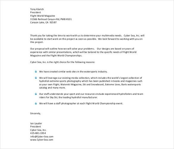 50+ Business Letter Templates -PDF, DOC Free  Premium Templates