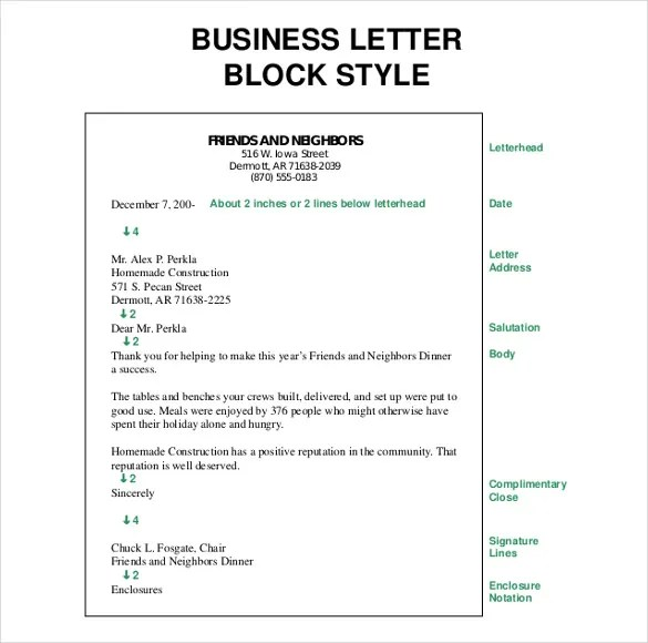 50+ Business Letter Template - Free Word, PDF Documents Free - business letter