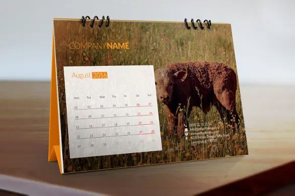 calendars on word