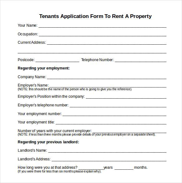 rental house application form xv-gimnazija