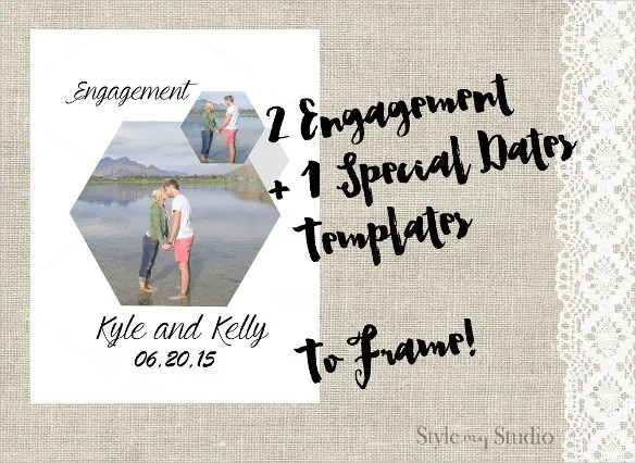 Engagement Invitation Template - 26+ Free PSD, AI, Vector EPS Format
