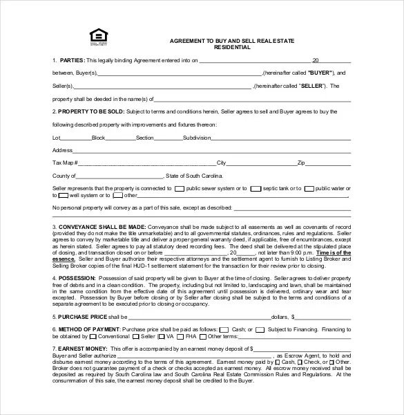 20+ Buy Sell Agreement Templates \u2013 Free Sample, Example, Format - home sales agreement template