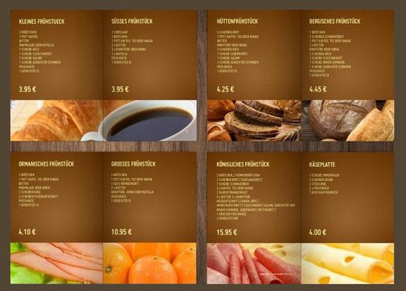 27+ Bakery Menu Templates u2013 Free Sample, Example Format Download - sample menu template