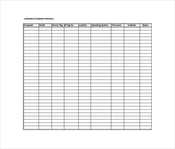 Inventory Spreadsheet Template - 48+ Free Word, Excel Documents
