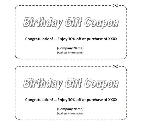 Homemade Coupon Templates \u2013 23+ Free PDF Format Download Free - coupon template