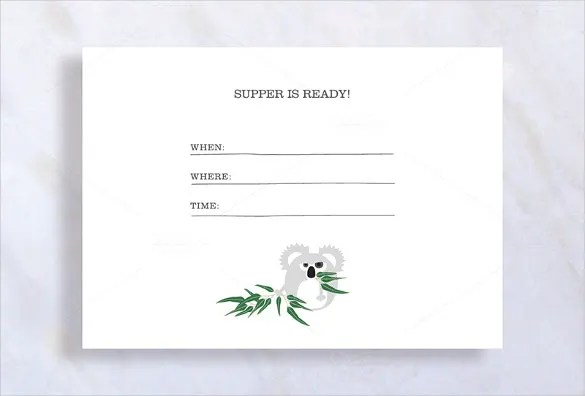 Dinner Invitation Template - 38+ Free PSD, Vector EPS, AI, Format - dinner invitation template