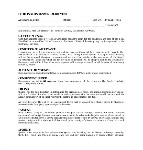 consignment template node2004-resume-templatepaasprovider
