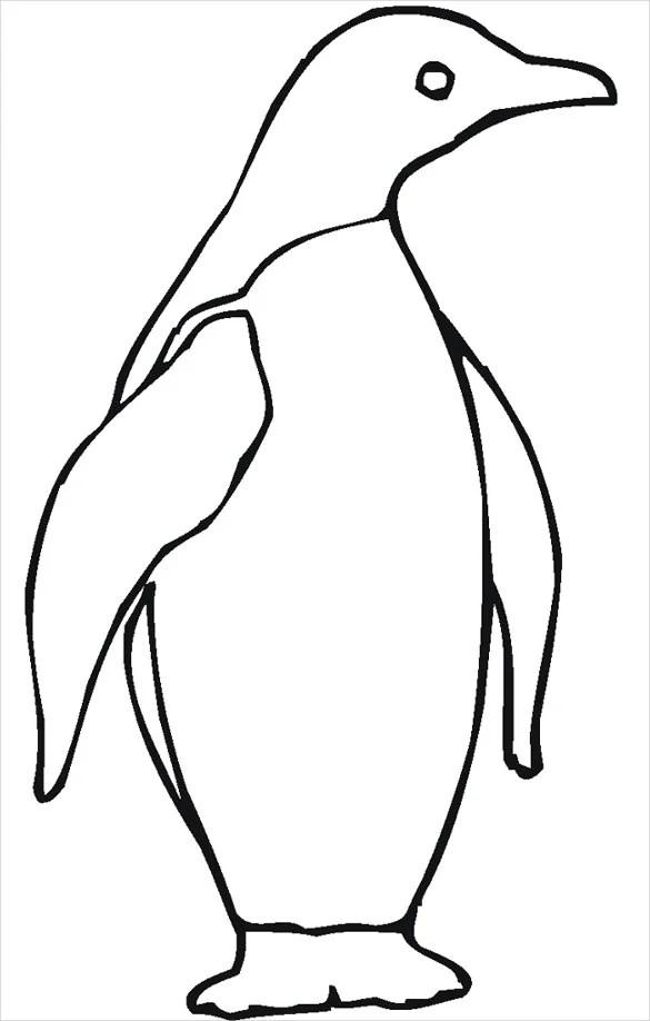 Penguin Template - Animal Templates Free  Premium Templates - penguin template