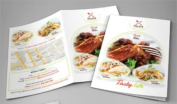 Fancy Sample Restaurant Brochure Sketch - Best Resume Examples by - sample restaurant brochure
