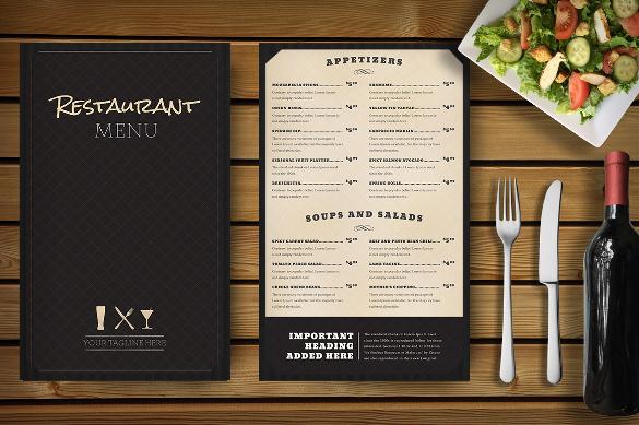 27+ Restaurant Menu Templates u2013 Free Sample, Example Format - sample menu template