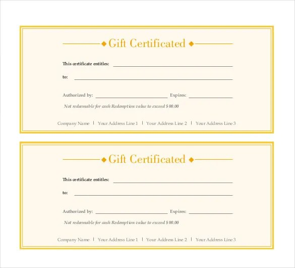 gift voucher template word free download