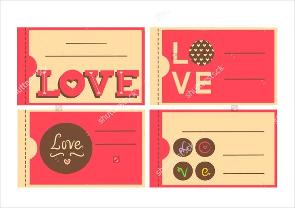 21+ Love Coupon Templates \u2013 Free Sample, Example, Format Download