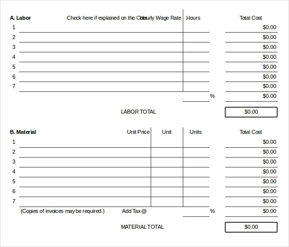 24+ Change Order Templates - PDF, DOC Free  Premium Templates - change order template