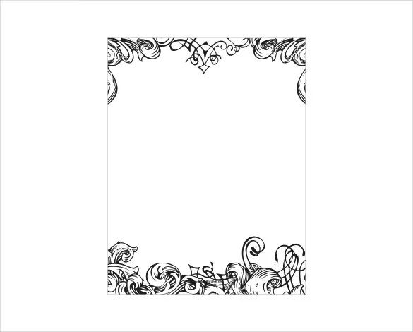 Paper Border Templates. lined border paper free lined