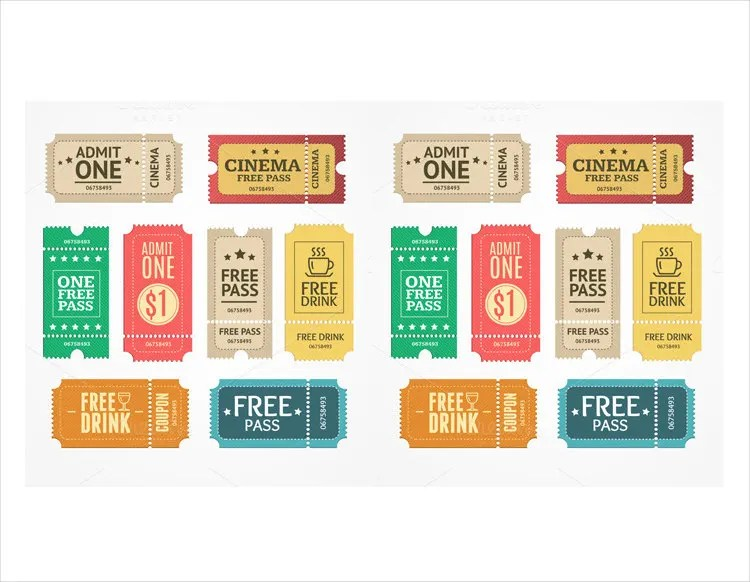 free drink coupon template - Jolivibramusic - coupon template download