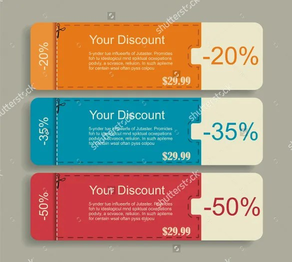 41+ Coupon Design Templates \u2013 Free Sample, Example, Format Download - discount coupon template
