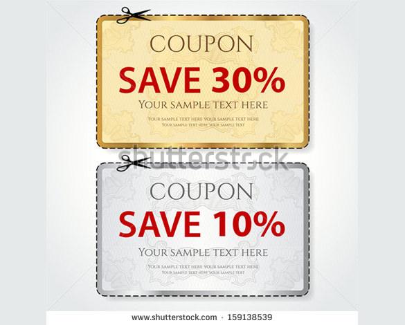 41+ Coupon Design Templates \u2013 Free Sample, Example, Format Download