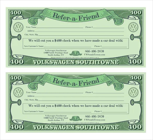 Referral Coupon Template u2013 17+ Free PSD, AI, Vector, PDF Format - money coupon template