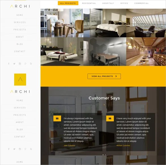 39+ Interior Design Website Templates Free  Premium Templates