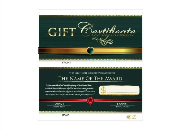 23+ Holiday Gift Certificate Templates - PSD Free  Premium Templates