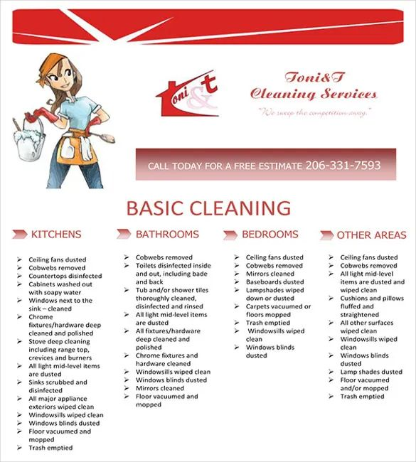 cleaning service business name ideas