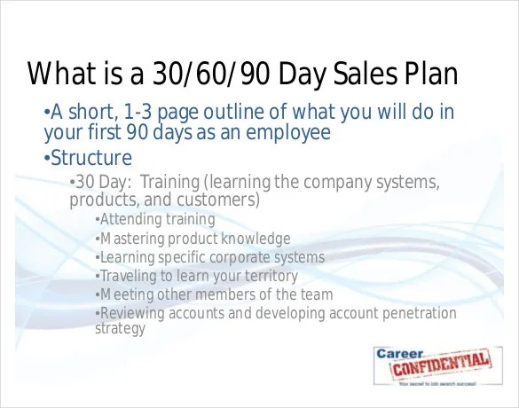 20+ 30 60 90 Day Action Plan Template u2013 Free Sample, Example - plan of action format
