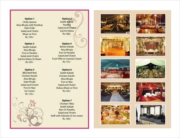 sample catering menu templates - Doritmercatodos - catering menu template free