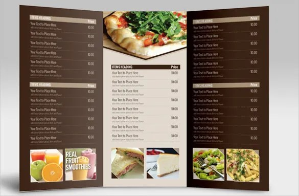 sample menu templates for catering - Funfpandroid - free catering menu template