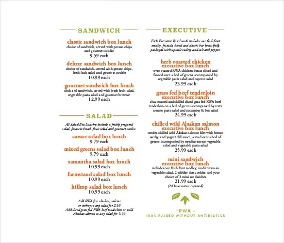 23+ Catering Menu Templates - AI, PSD, Google docs, Apple pages