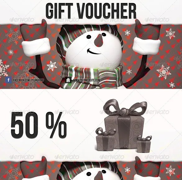 35+ Christmas Coupon Templates - PSD, DOC, Apple Pages Free