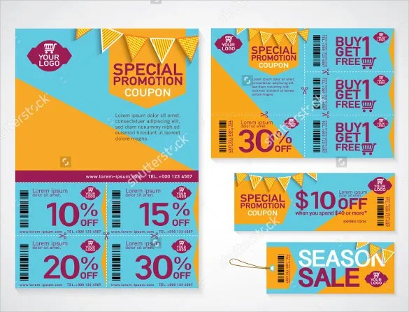 19+ Coupon Flyer Templates - PSD, Indesign Free  Premium Templates