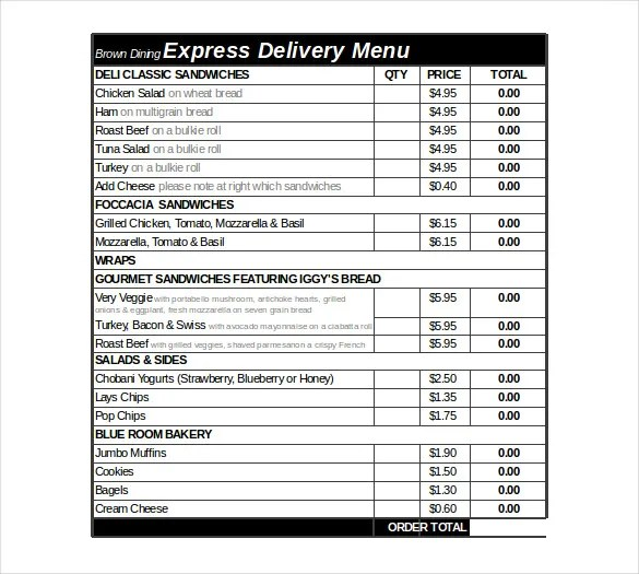 21+ Delivery Order Templates - Word, Google Docs Free  Premium