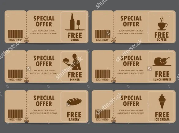 free coffee voucher template - Intoanysearch