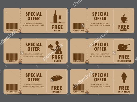 restaurant coupon template - Onwebioinnovate