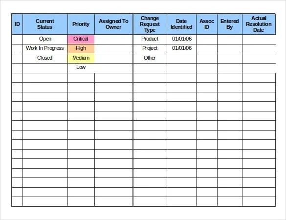 Order Tracking Template \u2013 10+ Free Excel, PDF Download Free