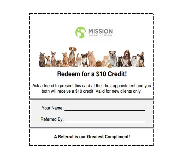 refer a friend coupon template - Ozilalmanoof