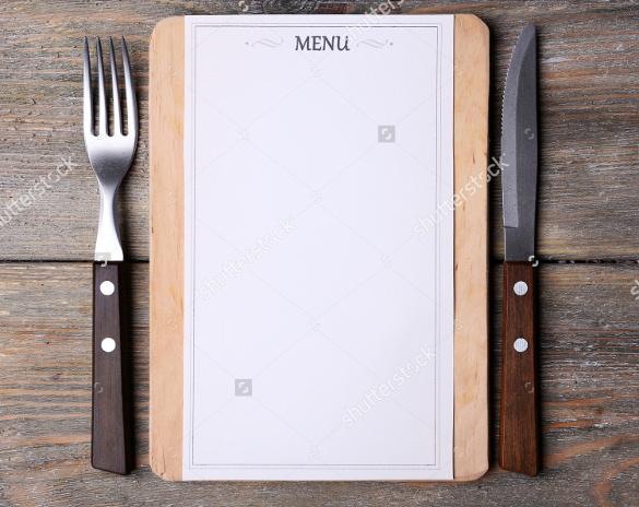 blank menu templates free - Selol-ink