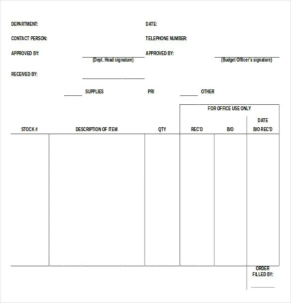 blank forms templates - Goalgoodwinmetals - Blank Forms Templates
