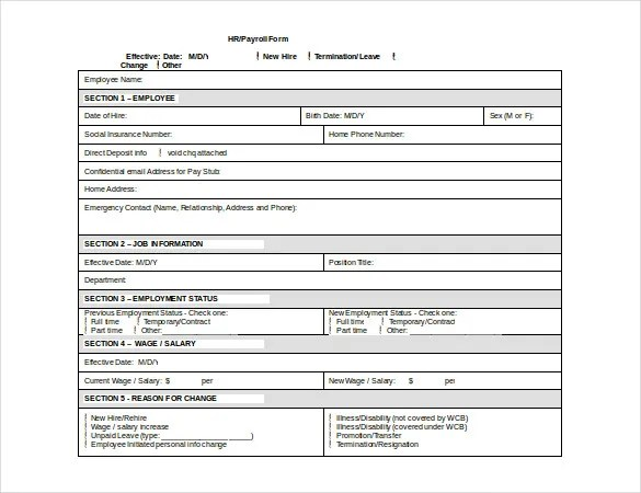 employee payroll forms free download - Narcopenantly