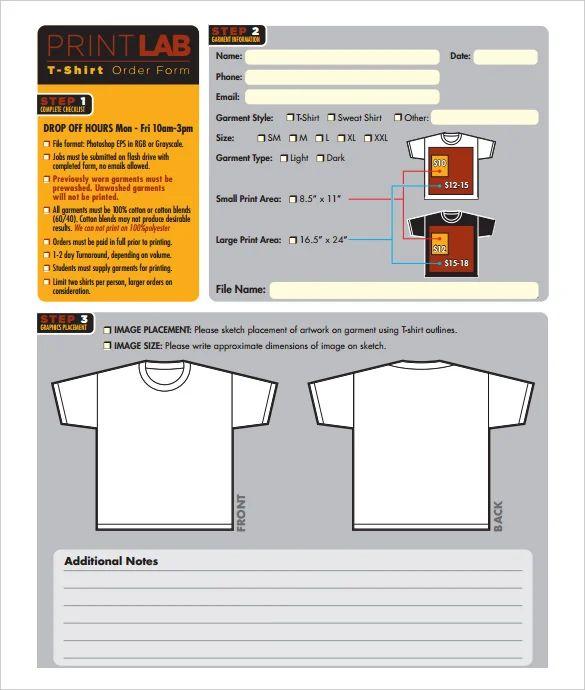 work order forms free online