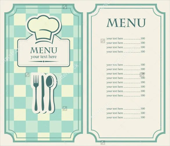 35+ Cafe Menu Templates \u2013 Free Sample, Example Format Download - Cafe Menu Template