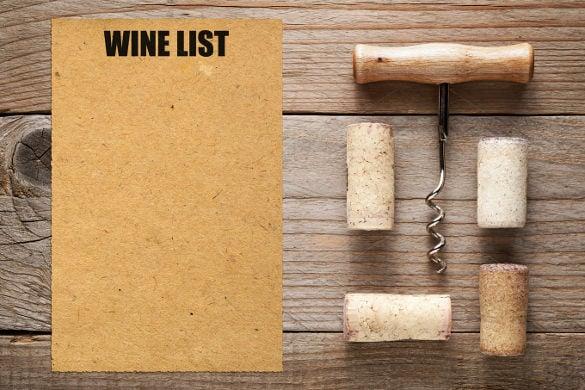 wine list template - Pinarkubkireklamowe