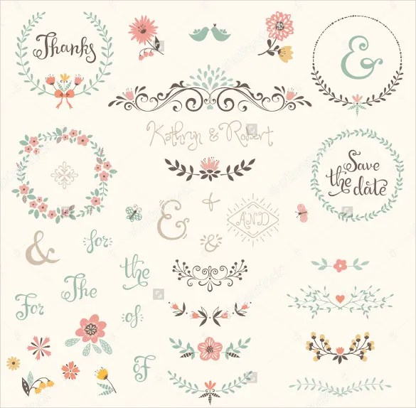 Wedding Label Template \u2013 44+ Free PSD, AI, Vector EPS Format