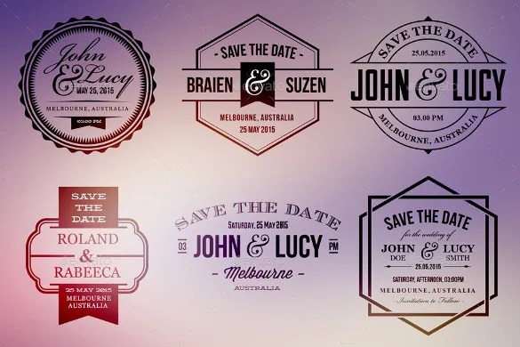 Wedding Label Template \u2013 44+ Free PSD, AI, Vector EPS Format
