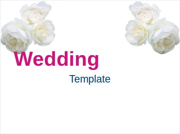 ppt wedding templates