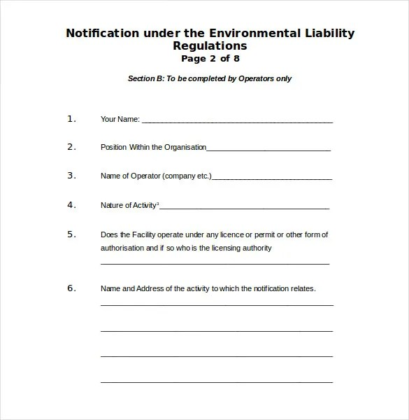 Environment Complaint Letter \u2013 9+ Free Word, PDF Documents Download - free customer complaint form template