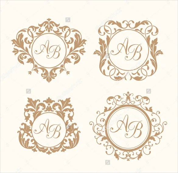 Wedding Logo Template \u2013 90+ Free PSD, EPS, AI, Illustrator Format - wedding template