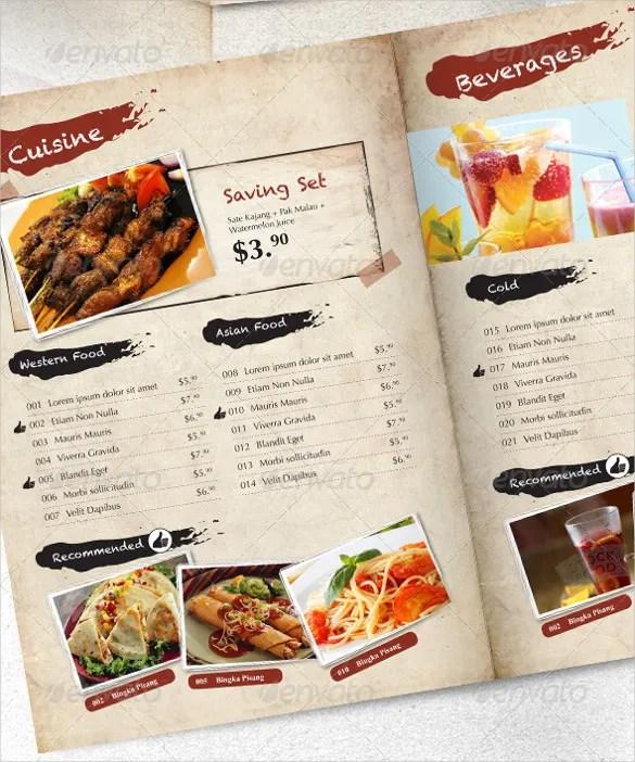 24+ Price Menu Templates - Free Sample, Example Format Download